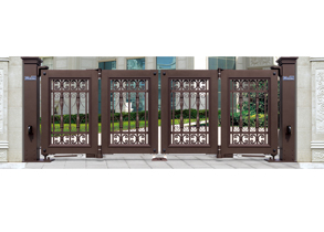 Suspended & Folding Gate 938-A1(Deep Coffee)