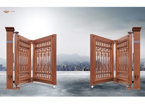 Suspended & Folding Gate 938-A2(Red Bronze)