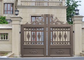 Suspended & Folding Gate 938-B5(Deep Coffee)