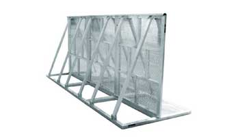 Aluminum Alloy Explosion Protection Fence-002