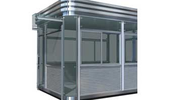 Stainless Steel Booths-001