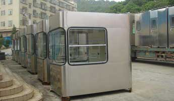 Stainless Steel Booths-002