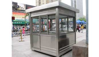 Stainless Steel Booths-003