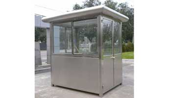 Stainless Steel Booths-004