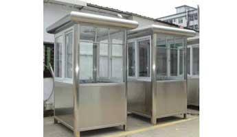 Stainless Steel Booths-005