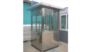 Stainless Steel Booths-007