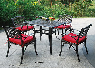 Outdoor Leisure Table And Chair